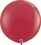 MAROON Fashion Tone - 3 FOOT SOLID COLOR ROUNDS QTY 2