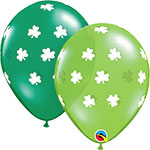 "BIG SHAMROCKS ASSORTMENT  (11"") QTY 50"