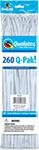 260Q-PAK WHITE STANDARD (2IN X 60IN) QTY 50
