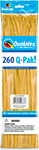 260Q-PAK GOLDENROD FASHION (2IN X 60IN) QTY 50