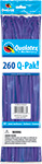 260Q-PAK PURPLE VIOLET FASHION  (2IN X 60IN) QTY 50