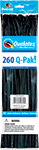 260Q-PAK ONYX BLACK FASHION (2IN X 60IN) QTY 50