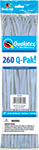 260Q-PAK METALLIC SILVER (2IN X 60IN) QTY 50