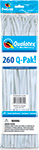 260Q-PAK DIAMOND CLEAR JEWEL (2IN X 60IN) QTY 50