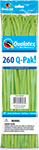 260Q-PAK LIME GREEN FASHION (2IN X 60IN) QTY 50