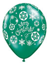 MERRY CHRISTMAS SNOW FLOWFLAKE (11 INCH)  QTY 100