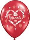 HAPPY VALENTINE'S DAY (11 INCH)  QTY 100