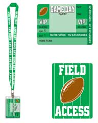 LANYARD/FIELD ACCESS CARD  QTY 6