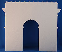 ARC DE TRIMPHE (12in x 1½ thick) QTY2