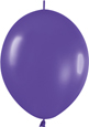 VIOLET FASHION - LINK-O-LOONS (6 INCH)  QTY 50
