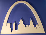 ST LOUIS ARCH (36in x 2 thick) QTY1