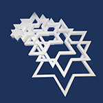 STAR OF DAVID 7 DIE-CUT (18in x 1½ thick) QTY2