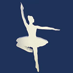 BALLERINA A  (12in x 1½ thick) QTY2
