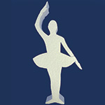 BALLERINA B (12in x 1½ thick) QTY2