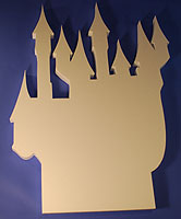 CASTLE A (18in x 1½ thick) QTY2