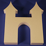 CASTLE GATE WAY (12in x 1½ thick) QTY2