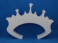 TIARA (12in x 1½ thick) QTY2