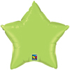 LIME GREEN STAR  (20in.) QTY 5