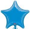 METALLIC D BLUE STAR (19in.) QTY 10