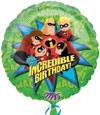 INCREDIBLES BIRTHDAY (18in.) QTY 5