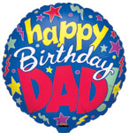 Birthday Dad (18in.)  QTY 5