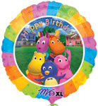 BACKYARDIGANS BDAY (18in) QTY 5