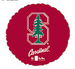 STANFORD UNIVERSITY CARDINALS 18in QTY 5