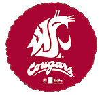 WASHINGTON STATE UNIVERSITY COUGARS 18in QTY 5