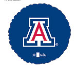 UNIVERSITY OF ARIZONA WILDCATS 18in QTY 5