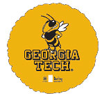 GEORGIA TECH YELLOW JACKETS 18in QTY 5