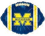 MICHIGAN WOLVERINES (18in) QTY 5