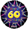 60TH BIRTHDAY CANDLES (18in) QTY 10
