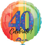 ATP A YEAR TO CELEBRATE 40  (18in) QTY 5