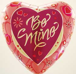 BE MINE (18in)  QTY 125