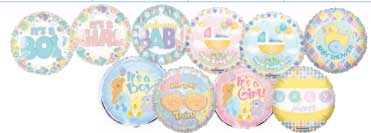 2-SIDED BABY ASST  (18in) QTY 100