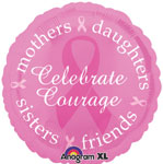BREAST CANCER AWARENESS (18in)  QTY 5