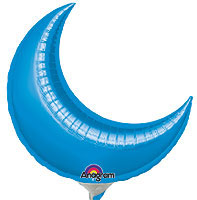BLUE CRESCENT (35 in ) QTY 3