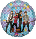 HAPPY BIRTHDAY CAMP ROCK (18in)  QTY 5