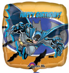 HAPPY BIRTHDAY BATMAN (18in)  QTY 5