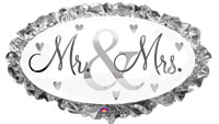 MR & MRS - WEDDING (32IN)  QTY 5