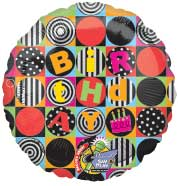 BIRTHDAY SQUARES RECORDABLE - SING-A-TUNE (JUMBO)  QTY 3