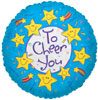 CHEER YOU SMILEY & STARS (9in) QTY 25