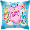 BABY GIRL BABY CLOTHES (18in) QTY 10