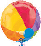 BEACH BALL (18 in) QTY 5