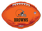 NFL BROWNS       (18in) QTY 5