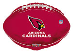 NFL CARDINALS (18in) QTY 5