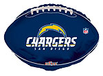 NFL CHARGERS (18in) QTY 5