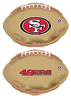 NFL 49ERS (18in) QTY 5