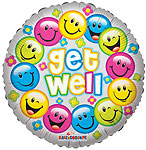 GET WELL COLORFUL SMILES