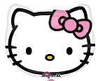 HELLO KITTY HEAD 18 in Pack 5